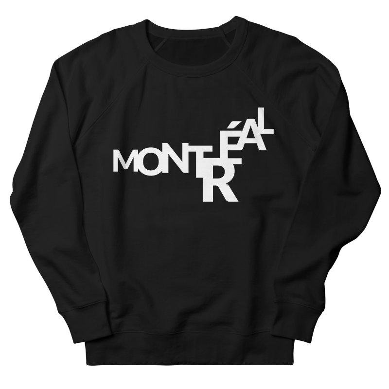 Montreal Island Logo Men's Sweatshirt by Shirts by Hal Gatewood