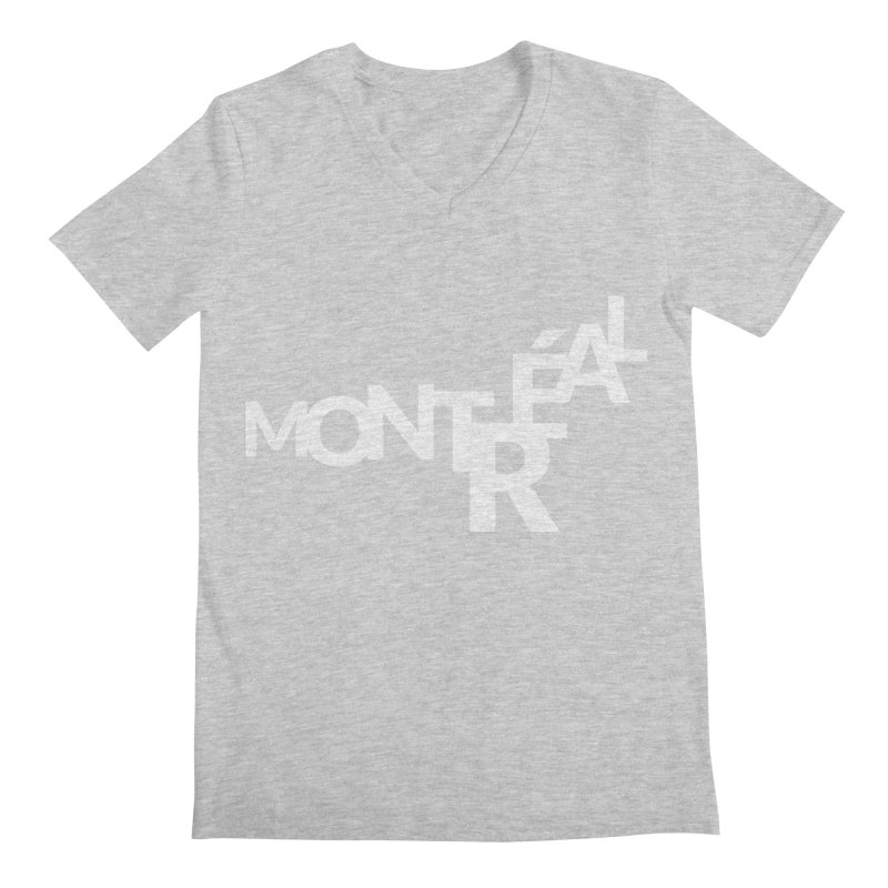Montreal Island Logo Men's V-Neck by STRIHS