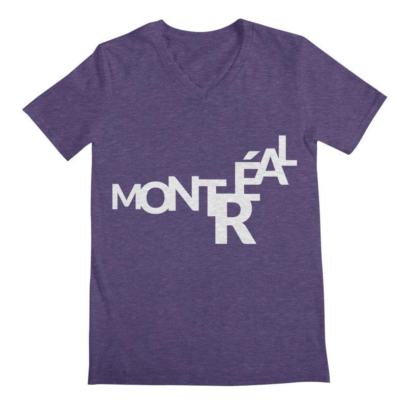 Montreal Island Logo Men's V-Neck by STRIHS