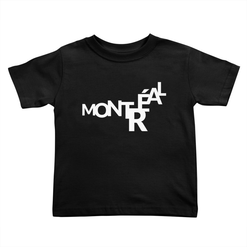 Montreal Island Logo Kids Toddler T-Shirt by Shirts by Hal Gatewood
