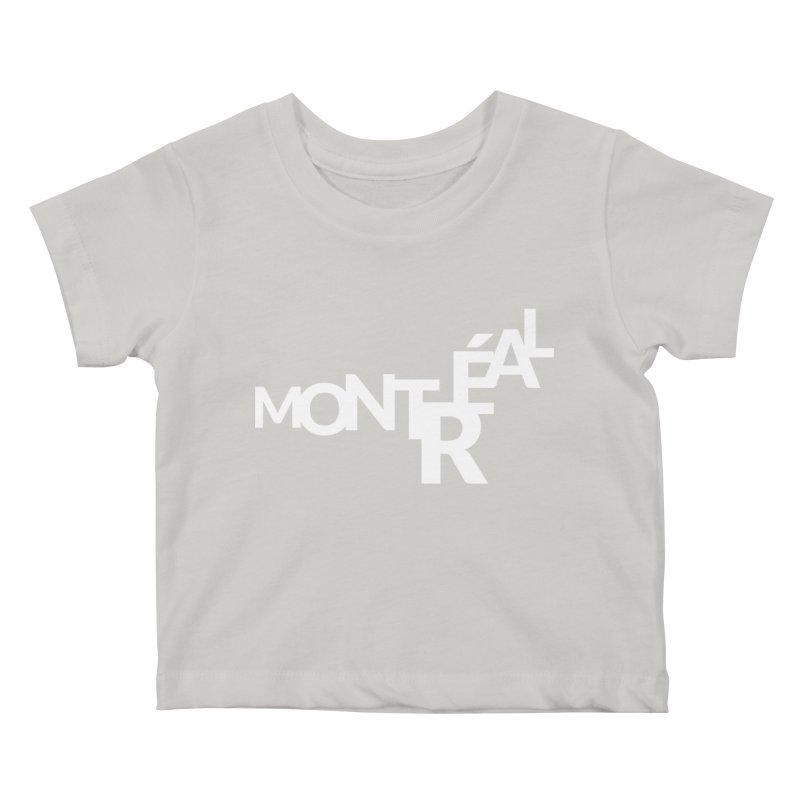 Montreal Island Logo Kids Baby T-Shirt by Shirts by Hal Gatewood