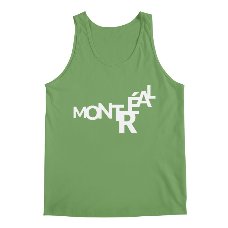 Montreal Island Logo Men's Tank by STRIHS
