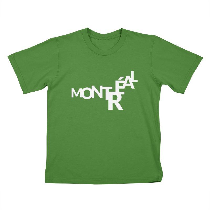 Montreal Island Logo Kids T-Shirt by Shirts by Hal Gatewood