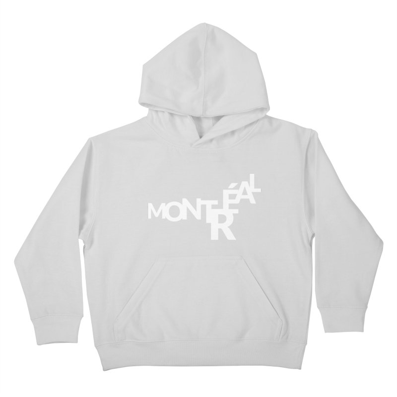 Montreal Island Logo Kids Pullover Hoody by Shirts by Hal Gatewood