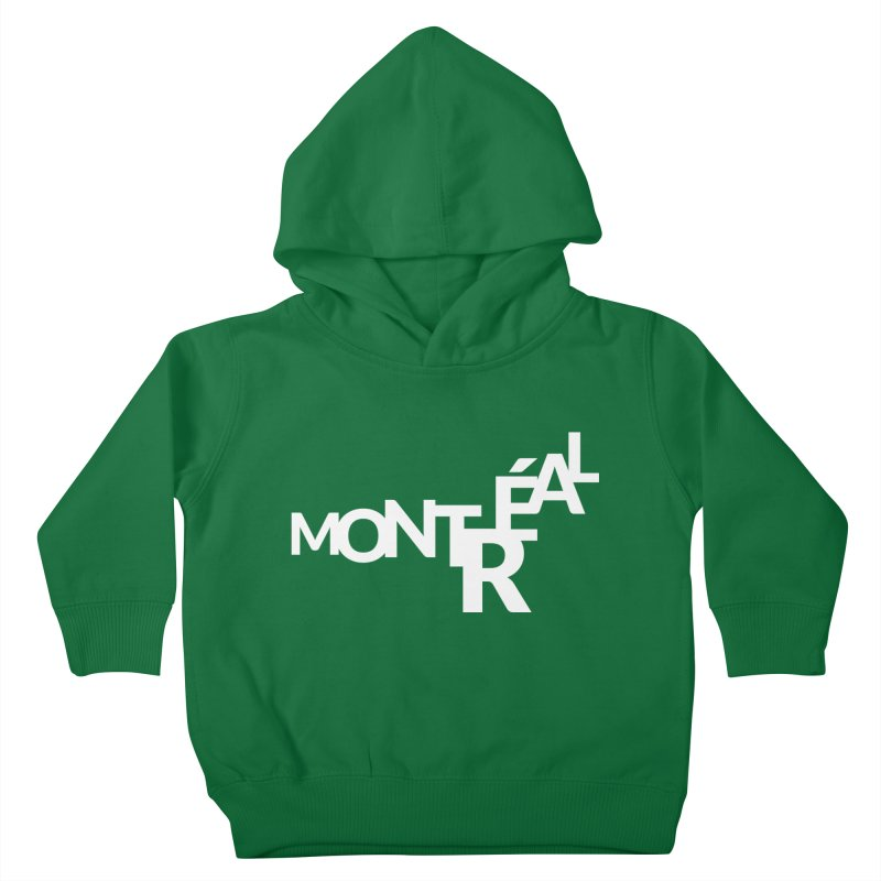 Montreal Island Logo Kids Toddler Pullover Hoody by Shirts by Hal Gatewood