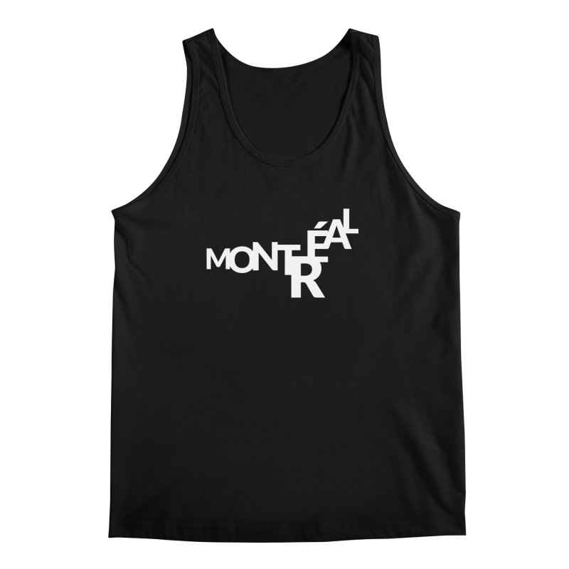 Montreal Island Logo Men's Regular Tank by Shirts by Hal Gatewood