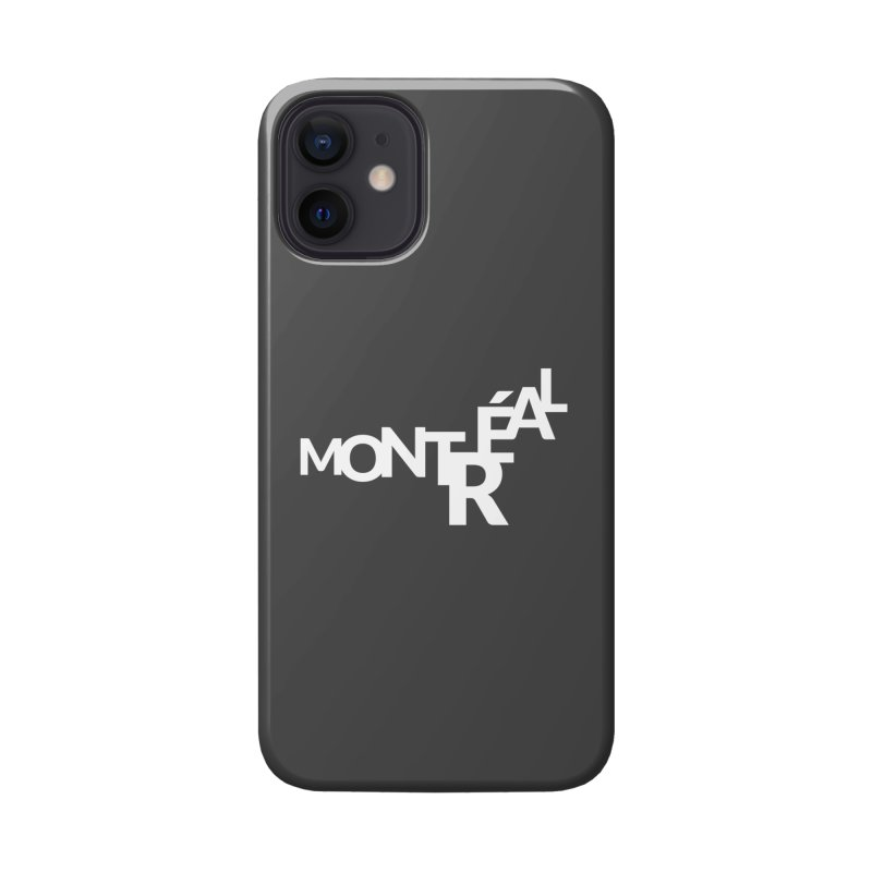 Montreal Island Logo Accessories Phone Case by STRIHS