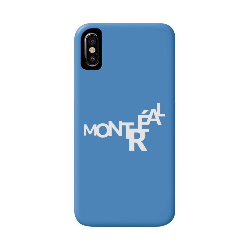 Montreal Island Logo Accessories Phone Case by Shirts by Hal Gatewood