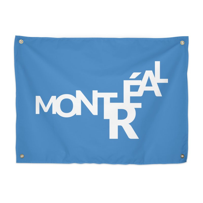 Montreal Island Logo Home Tapestry by Shirts by Hal Gatewood