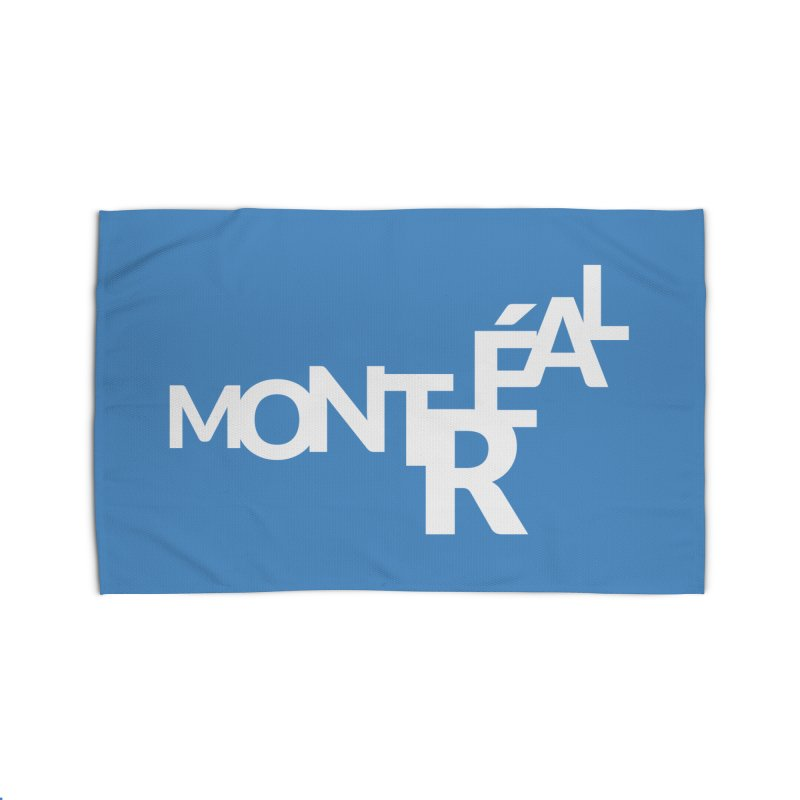 Montreal Island Logo Home Rug by Shirts by Hal Gatewood