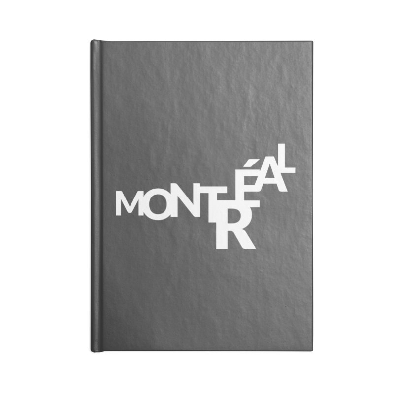 Montreal Island Logo Accessories Notebook by STRIHS