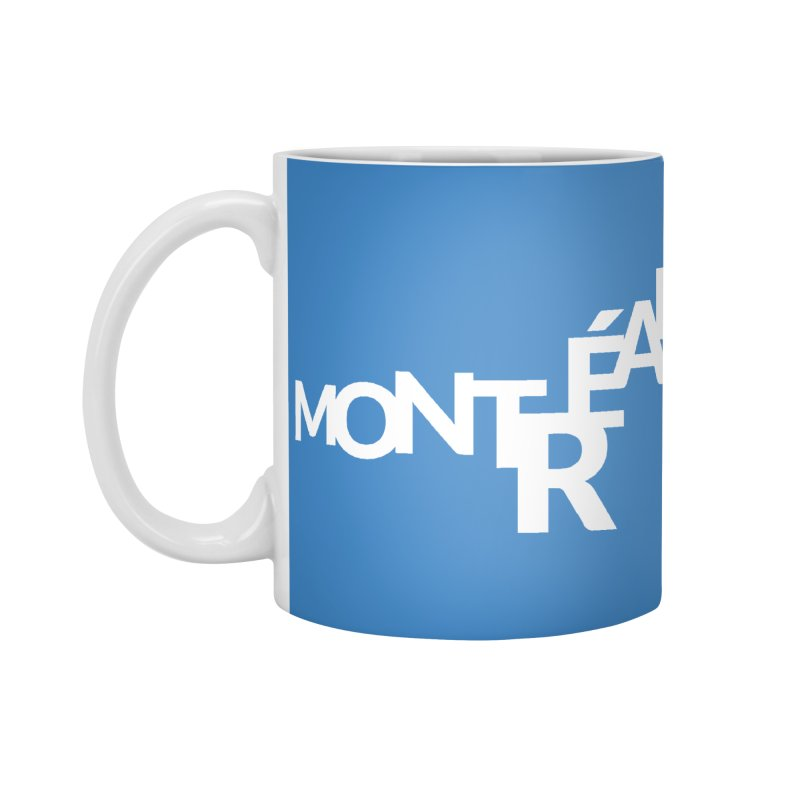 Montreal Island Logo Accessories Mug by Shirts by Hal Gatewood