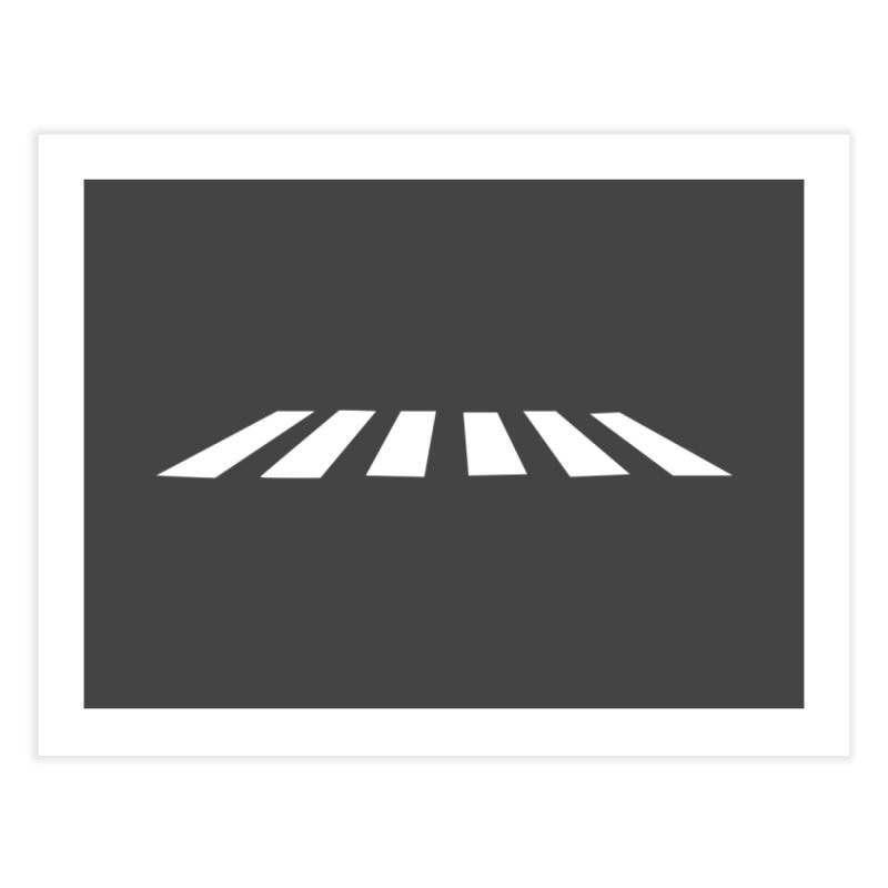 Abbey the Road - Sans Beatles Home Fine Art Print by STRIHS