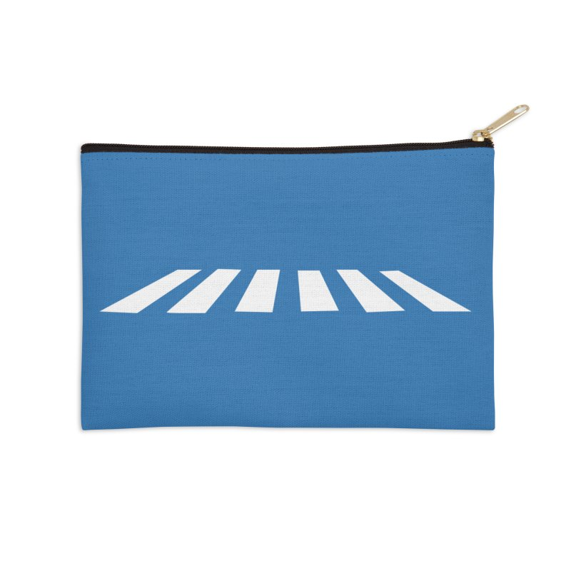 Abbey the Road - Sans Beatles Accessories Zip Pouch by Shirts by Hal Gatewood
