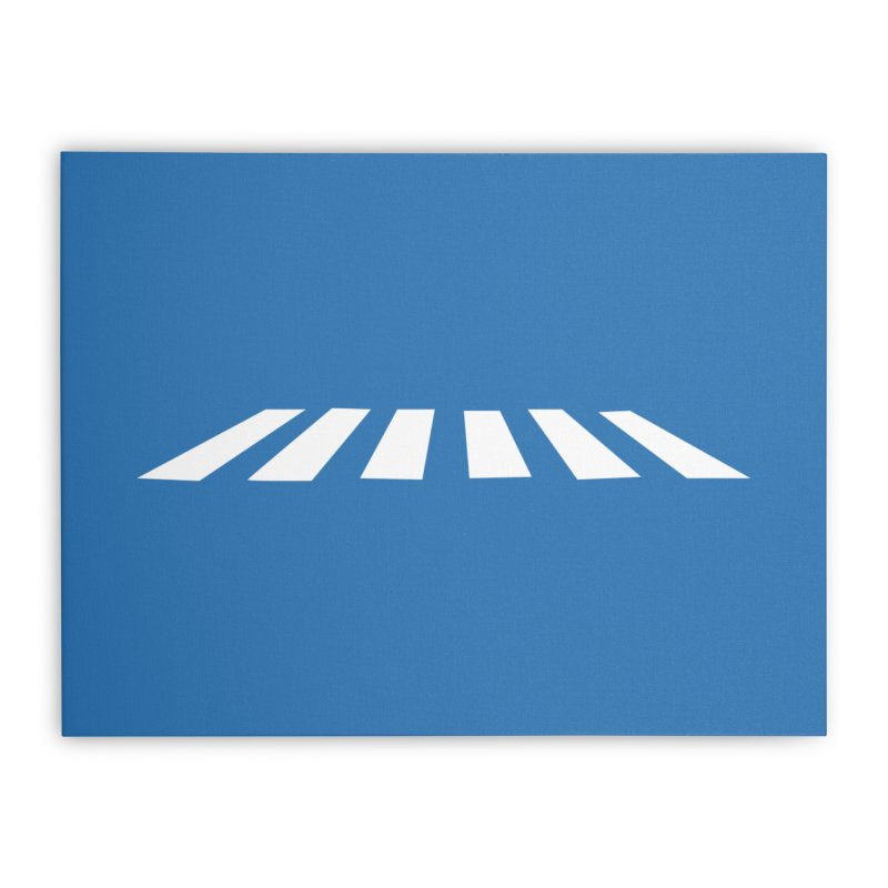 Abbey the Road - Sans Beatles Home Stretched Canvas by Shirts by Hal Gatewood