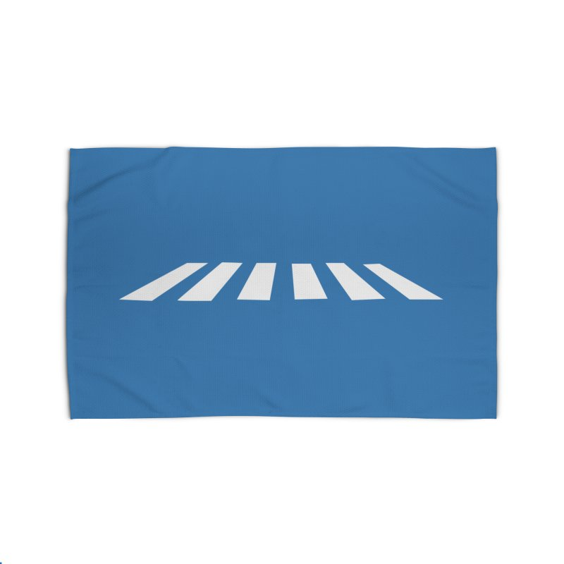 Abbey the Road - Sans Beatles Home Rug by Shirts by Hal Gatewood