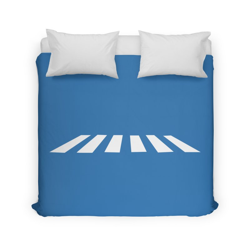 Abbey the Road - Sans Beatles Home Duvet by Shirts by Hal Gatewood