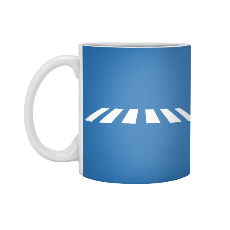 Abbey the Road - Sans Beatles Accessories Standard Mug by Shirts by Hal Gatewood