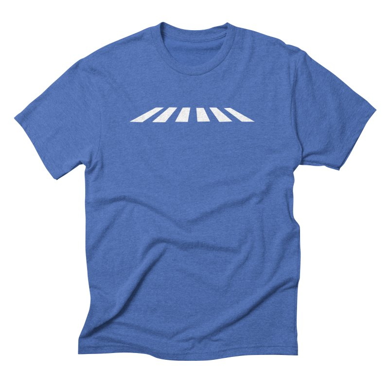 Abbey the Road - Sans Beatles Men's Triblend T-Shirt by Shirts by Hal Gatewood