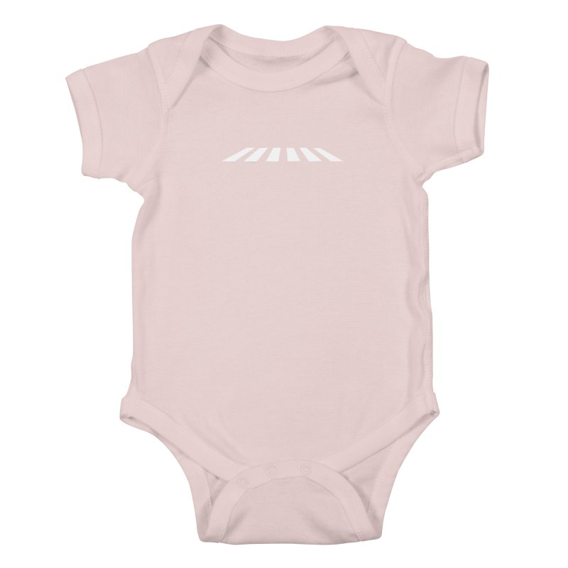 Abbey the Road - Sans Beatles Kids Baby Bodysuit by Shirts by Hal Gatewood