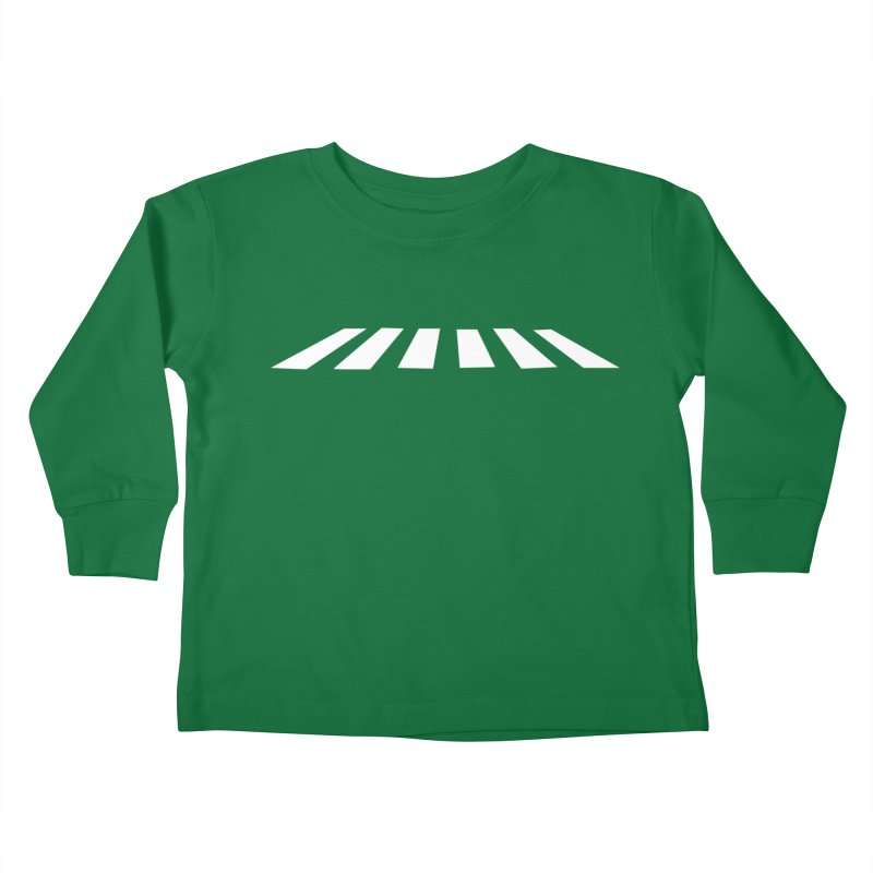 Abbey the Road - Sans Beatles Kids Toddler Longsleeve T-Shirt by Shirts by Hal Gatewood