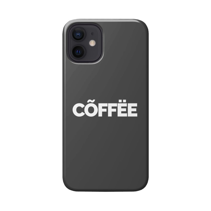 Authentic Cõffëe Accessories Phone Case by STRIHS