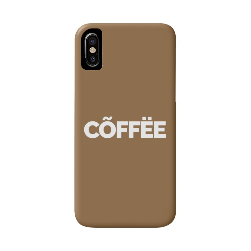 Authentic Cõffëe Accessories Phone Case by Shirts by Hal Gatewood