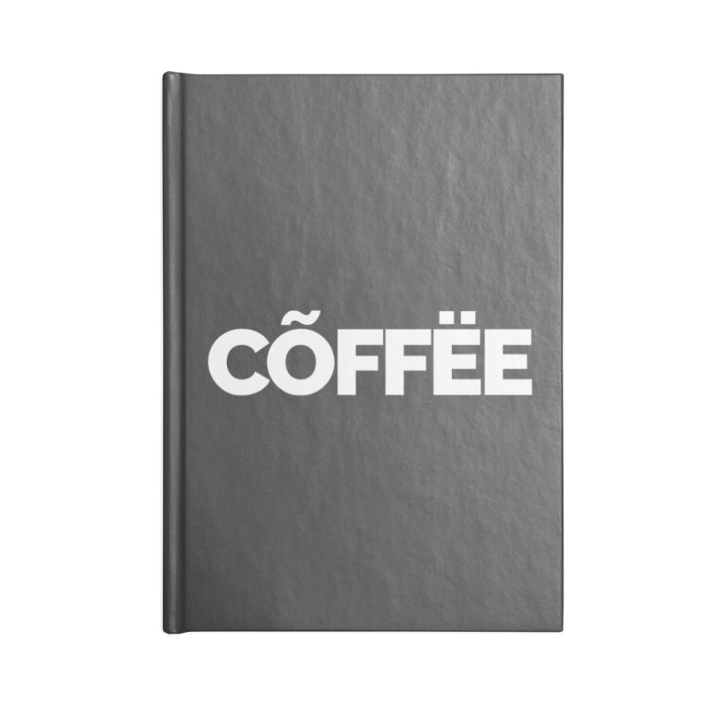 Authentic Cõffëe Accessories Notebook by STRIHS