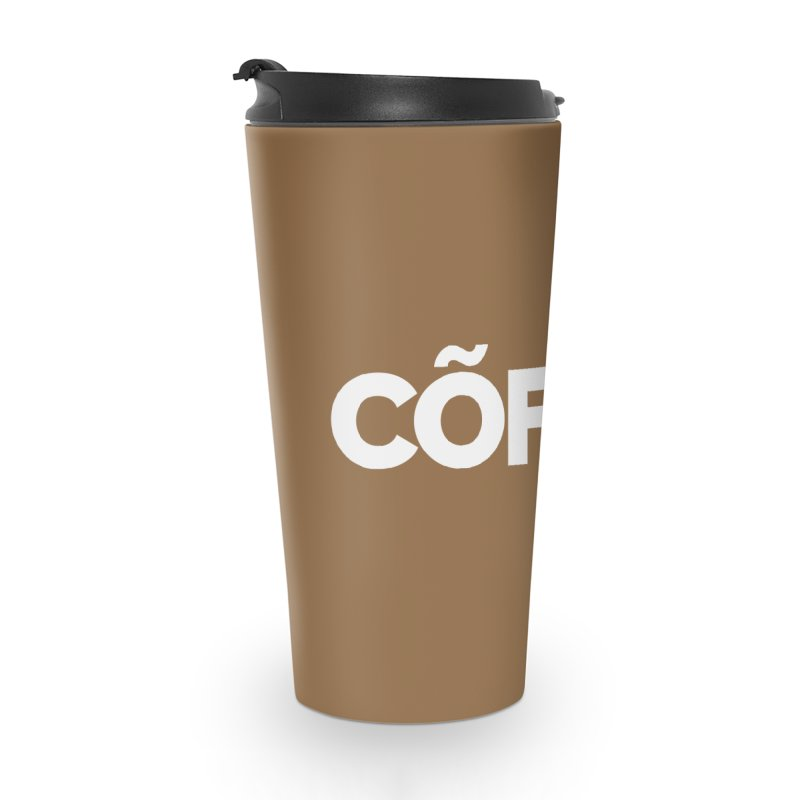 Authentic Cõffëe Accessories Travel Mug by Shirts by Hal Gatewood