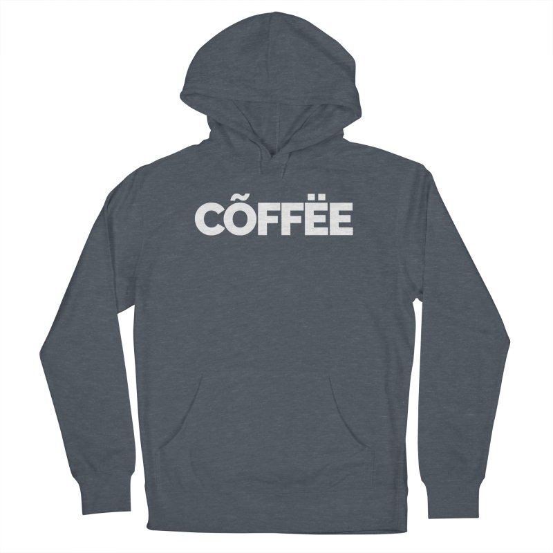 Authentic Cõffëe Men's French Terry Pullover Hoody by Shirts by Hal Gatewood