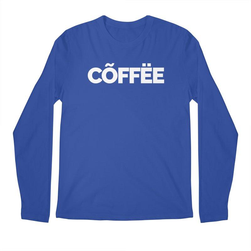 Authentic Cõffëe Men's Longsleeve T-Shirt by Shirts by Hal Gatewood