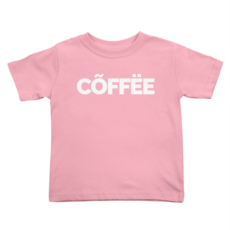 Authentic Cõffëe Kids Toddler T-Shirt by Shirts by Hal Gatewood