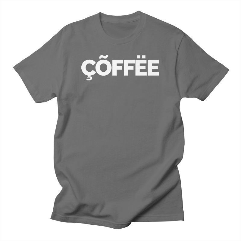 Authentic Cõffëe Men's T-Shirt by STRIHS