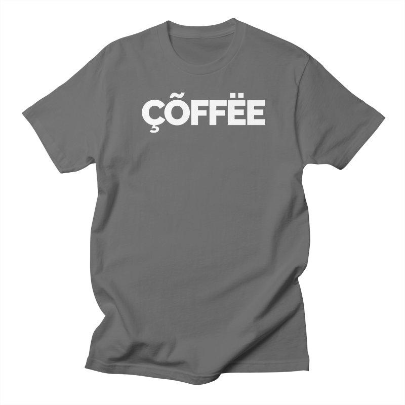 Authentic Cõffëe Men's T-Shirt by Shirts by Hal Gatewood