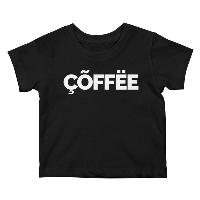 Authentic Cõffëe Kids Baby T-Shirt by Shirts by Hal Gatewood