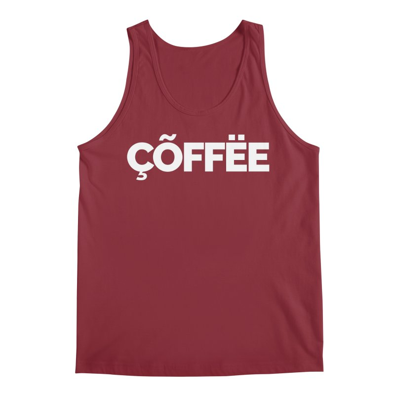 Authentic Cõffëe Men's Regular Tank by Shirts by Hal Gatewood