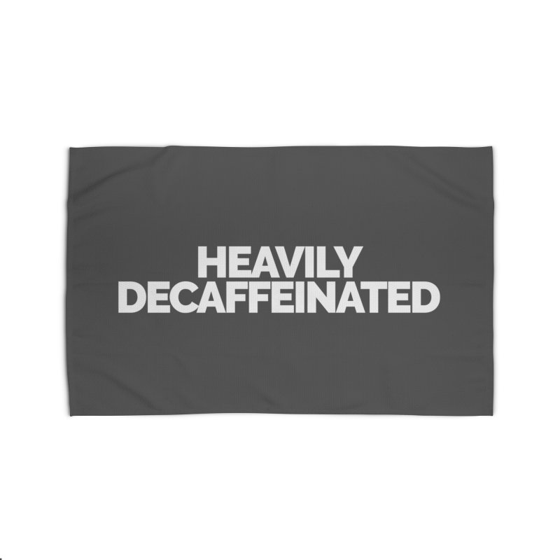 Heavily Decaffeinated Home Rug by STRIHS