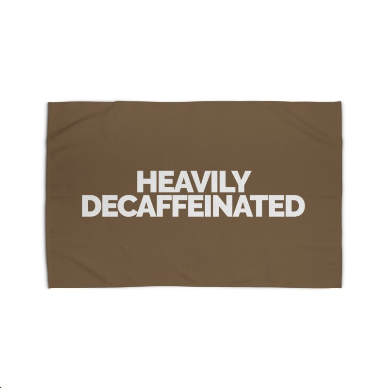 Heavily Decaffeinated Home Rug by Shirts by Hal Gatewood