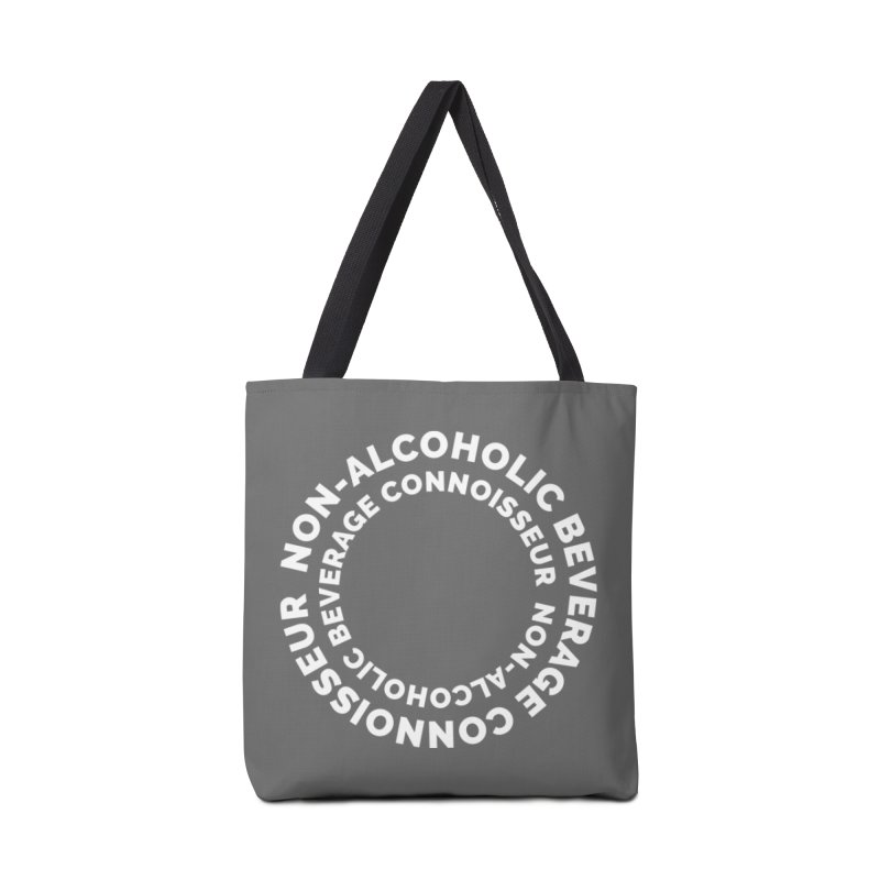 Non-Alcoholic Beverage Connoisseur Accessories Tote Bag Bag by Shirts by Hal Gatewood