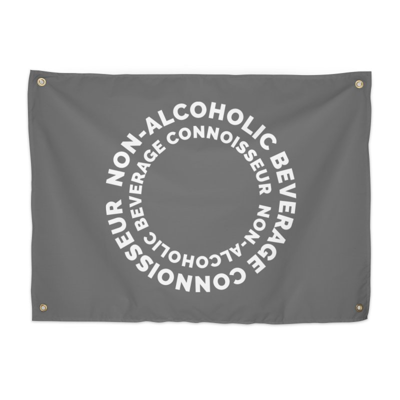 Non-Alcoholic Beverage Connoisseur Home Tapestry by Shirts by Hal Gatewood