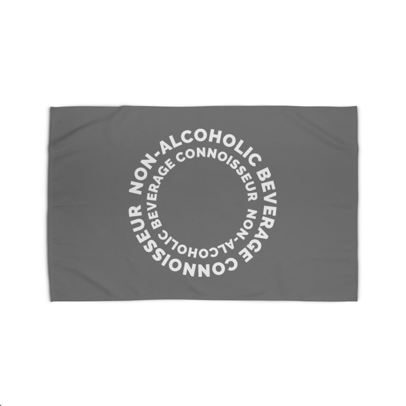 Non-Alcoholic Beverage Connoisseur Home Rug by Shirts by Hal Gatewood