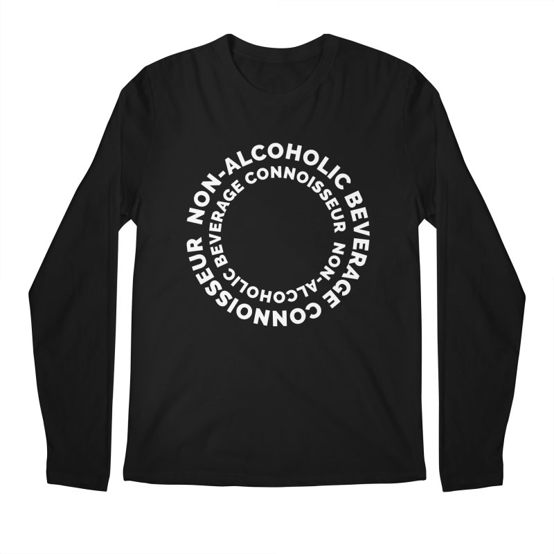 Non-Alcoholic Beverage Connoisseur Men's Longsleeve T-Shirt by Shirts by Hal Gatewood