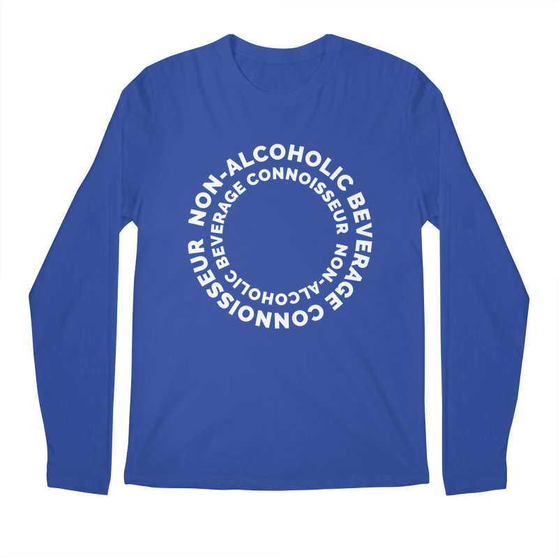 Non-Alcoholic Beverage Connoisseur Men's Regular Longsleeve T-Shirt by Shirts by Hal Gatewood