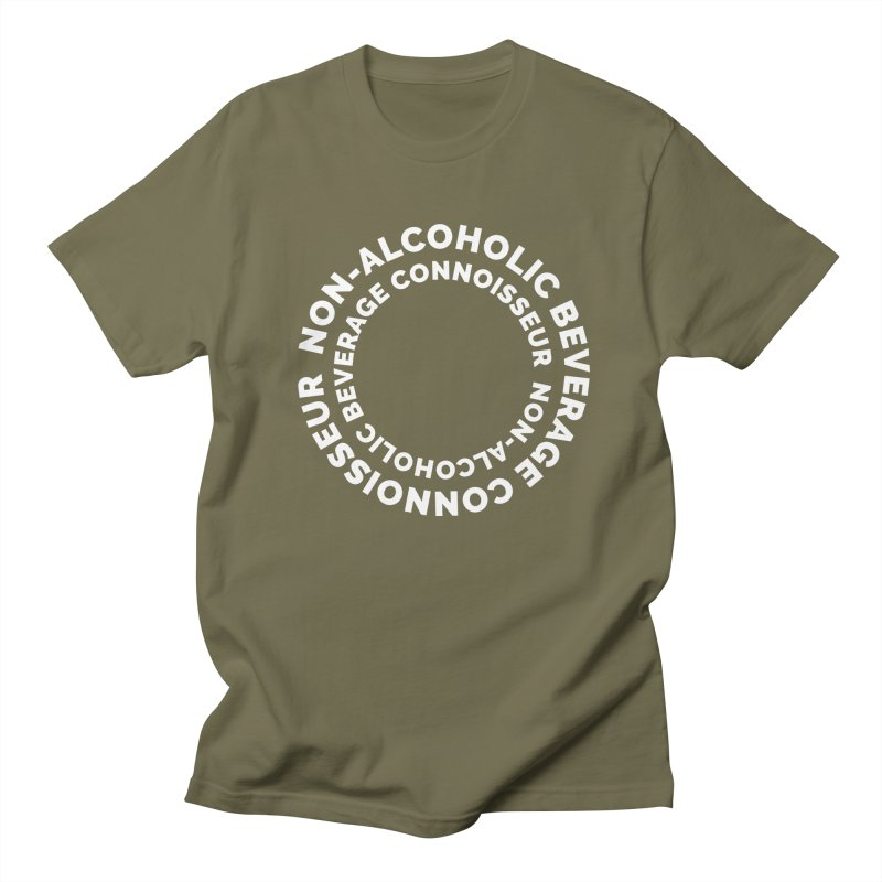 Non-Alcoholic Beverage Connoisseur Men's Regular T-Shirt by Shirts by Hal Gatewood