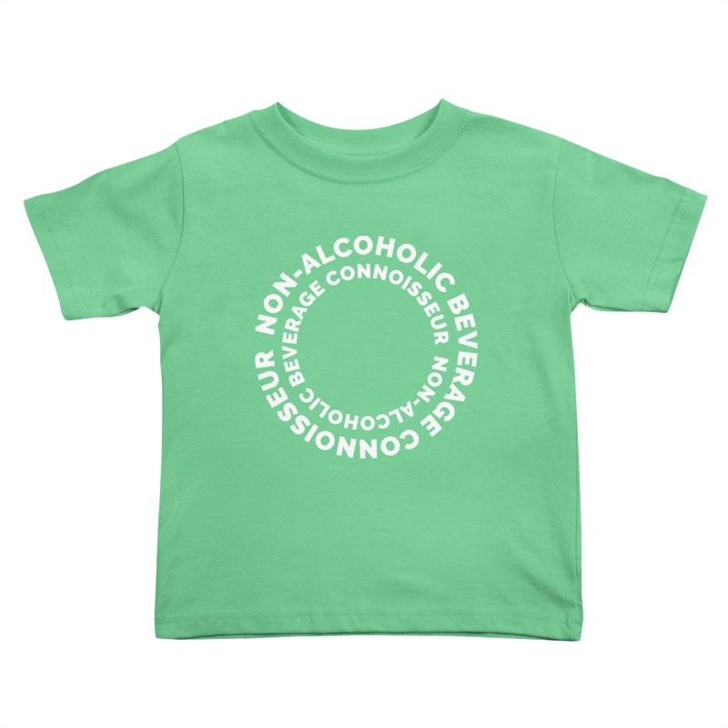 Non-Alcoholic Beverage Connoisseur Kids Toddler T-Shirt by Shirts by Hal Gatewood