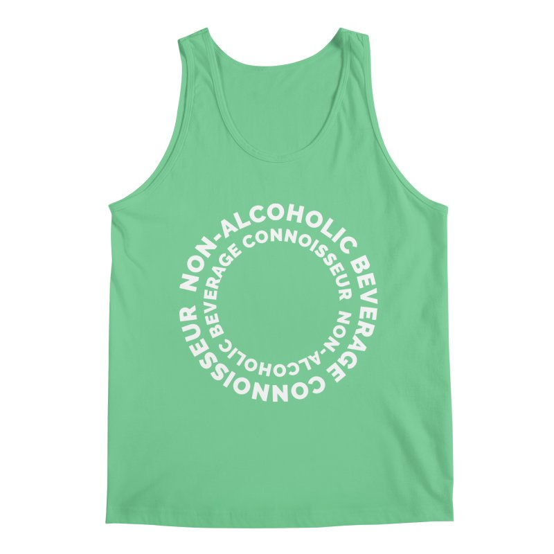 Non-Alcoholic Beverage Connoisseur Men's Regular Tank by Shirts by Hal Gatewood