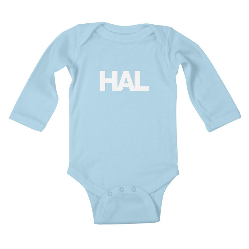 HAL Kids Baby Longsleeve Bodysuit by Shirts by Hal Gatewood