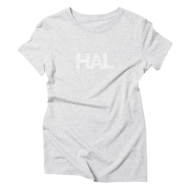 HAL Women's Triblend T-shirt by Shirts by Hal Gatewood