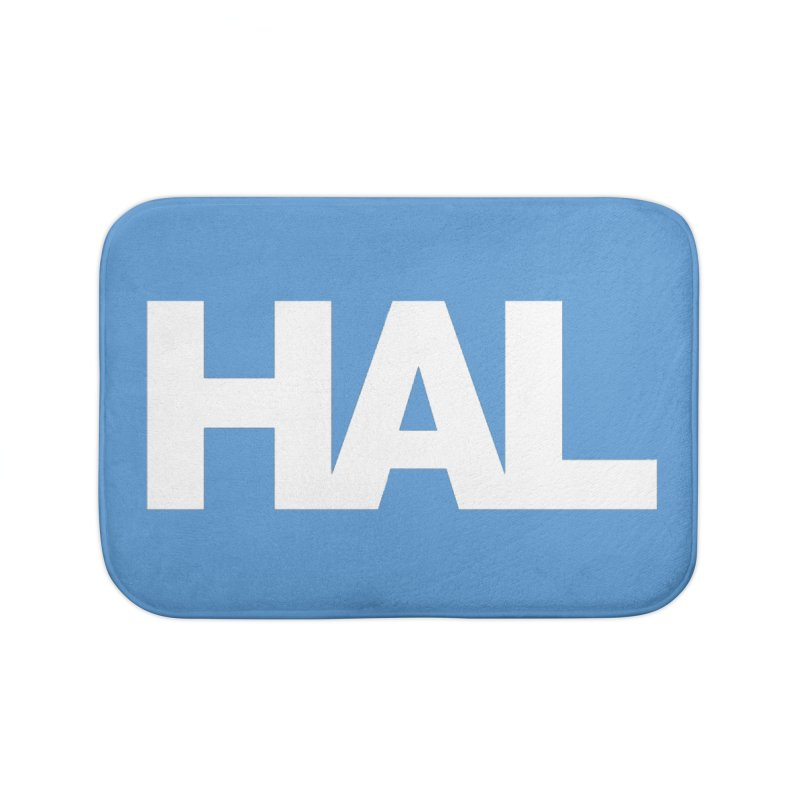 HAL Home Bath Mat by Shirts by Hal Gatewood
