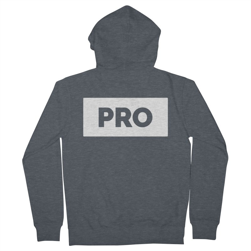 Like a PRO Women's French Terry Zip-Up Hoody by Shirts by Hal Gatewood